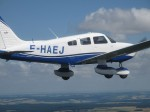 Piper PA-28 Archer III F-HAEJ Air-Air